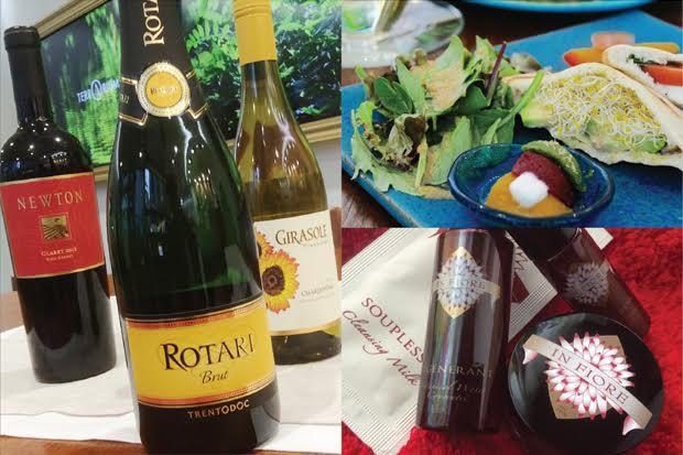 テラリウムカフェイベント#002</br>ワインスタイリスト 藤崎さとこ </br>「ワイン&フードのビューティ・マリアージュ」