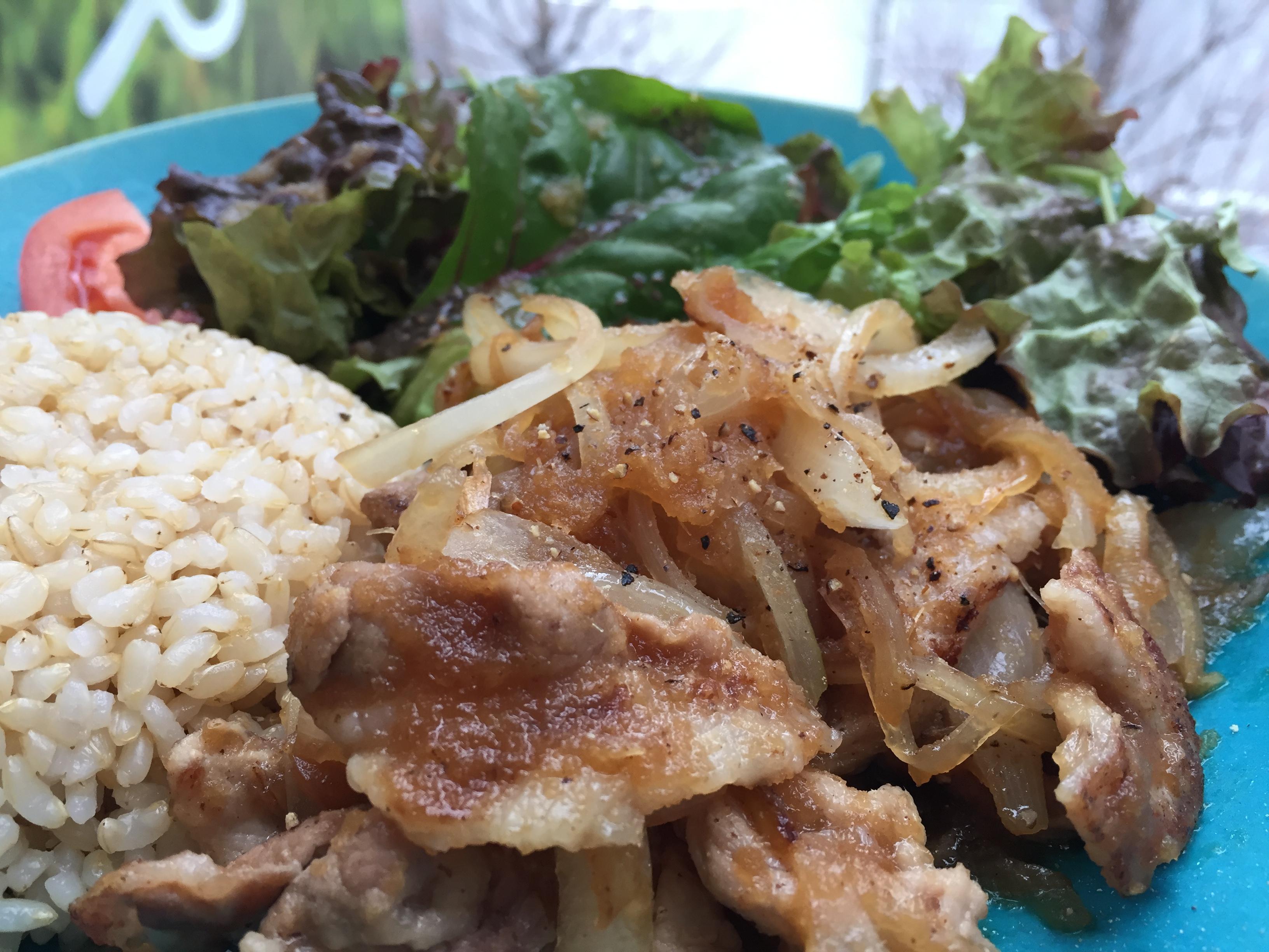 【アンバサダーブログVol.4】</br>一度は食べていただきたい!魅惑の「豚の生姜焼き定食」