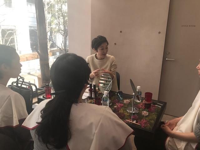 【アンバサダーブログVol.52】フラワーテーブルでのビューティ体験
